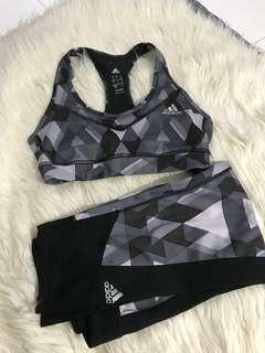 Repriced!!!  Adidas Climalite Sports bra and Leggings set