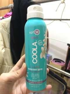 COOLA不間斷運動防曬噴霧SPF50(無香味)