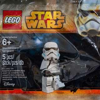 LEGO Star Wars Storm Trooper Sergeant Minifigure Polybag