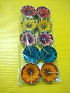 (All for $15) Flower Candles