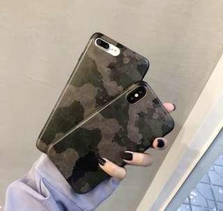 🚚 ✨個性軍綠迷彩手機殼✨