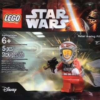 LEGO Star Wars Rebel A-Wing Pilot Minifigure Polybag