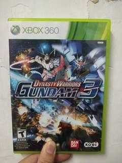 Gundam Dynasty warriors 3