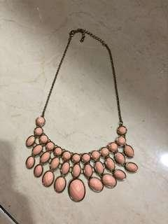 H&M Peach Necklaces