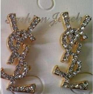 Inspired ysl earrings