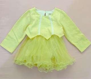 NEW!! Cute yellow dress #midsep50