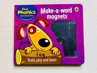 First Phonics Interactive Make-a-word magnets