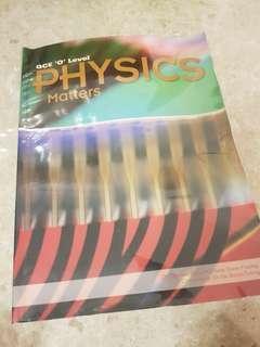 Gce o levela physics matters