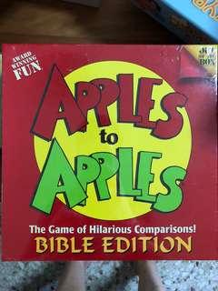 🚚 Apples to apples bible edition