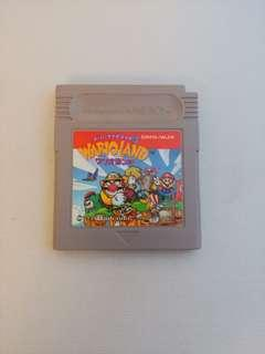 Gameboy Super Mario Land 3 Wario Land ワリオランド Game Boy