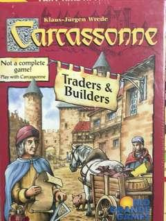 🚚 Carcassone : Traders and builders expansion