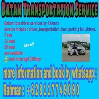 Batam Transportation / Tour guide
