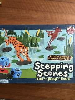 🚚 Stepping stones board game suitable for classroom learning