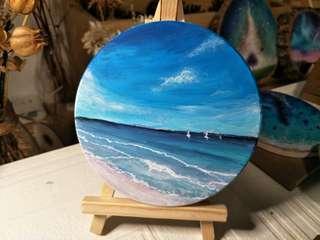 🚚 陶瓷藝品【海浪假期】
