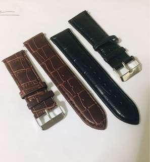 2pcs-22mm Watch Strap For Sale