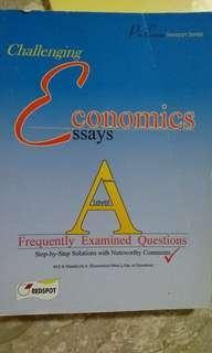 Challenging economics essays a level