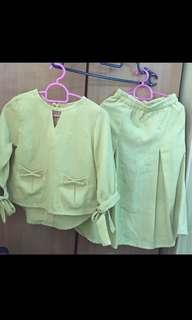 Malay / Malaysian Terno Skirt & Longsleevea