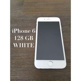iPhone 6 unlocked 128GB white