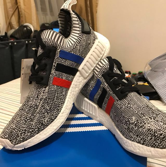 timeless design 231ea 4df3d Adidas NMD R1 Tri Color