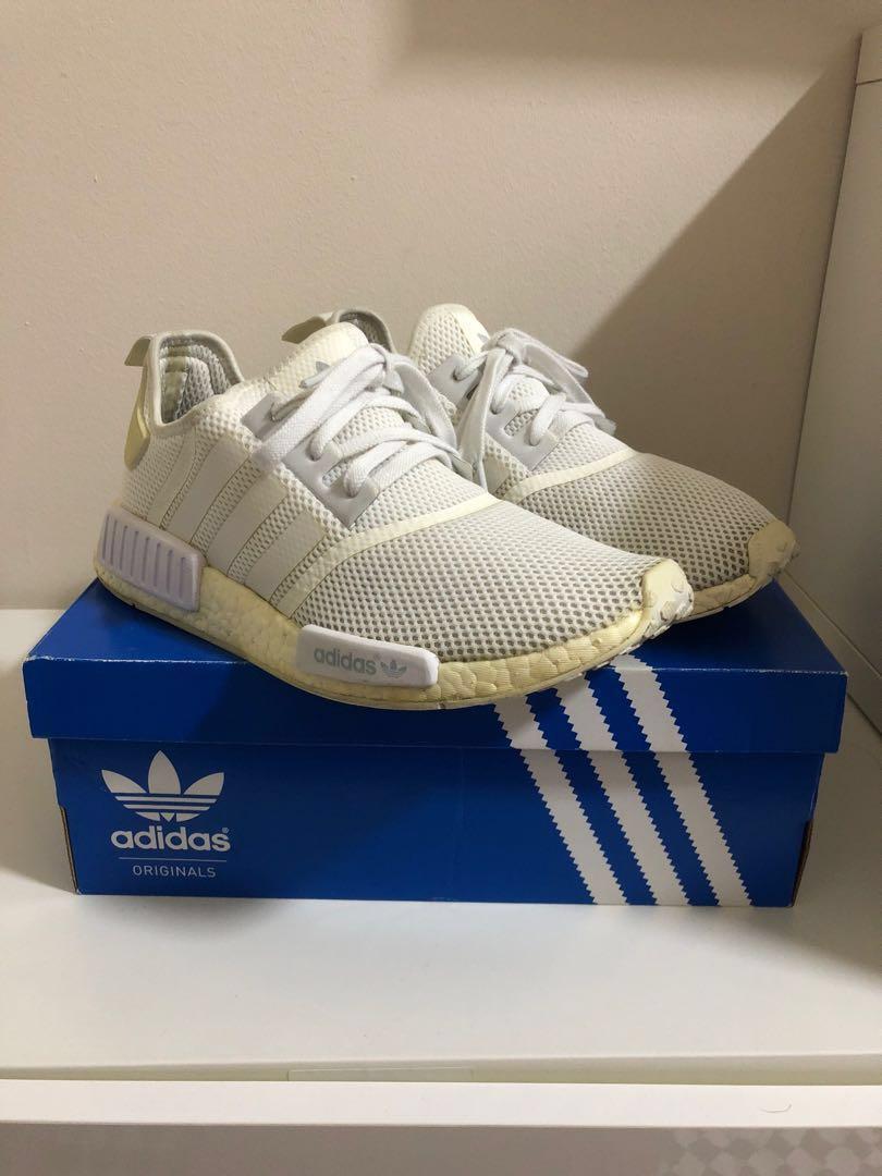 b94c55cafa2cf Adidas NMD R1 Triple White