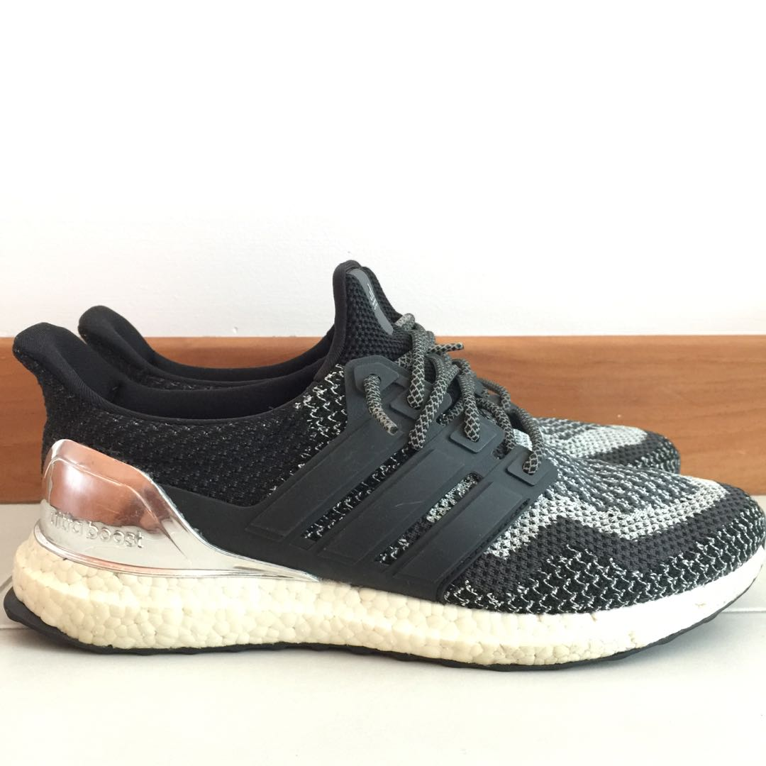 f6585ce6a3888 ... purchase adidas ultra boost silver medal mens fashion footwear sneakers  on carousell addc1 e27f8