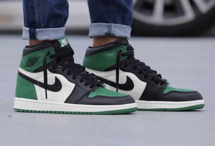 83d274fbfe8 Air Jordan 1 Retro OG Pine Green, Men's Fashion, Footwear, Sneakers ...