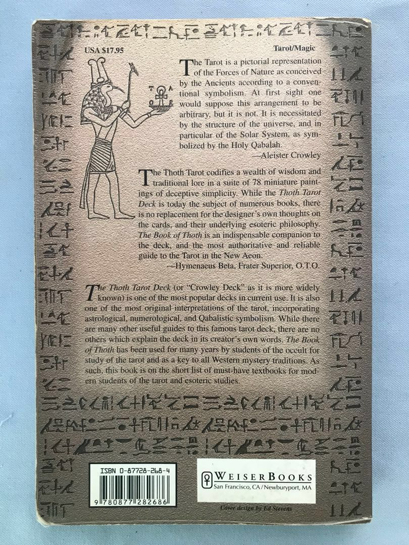 ALEISTER CRAWLEY  The Book Of Thoth