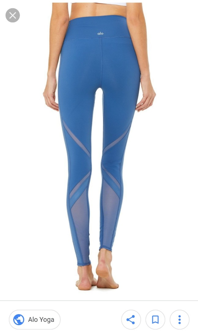 6daea0c7756d09 Alo Yoga High Waist Epic Leggings, Sports, Sports Apparel on Carousell