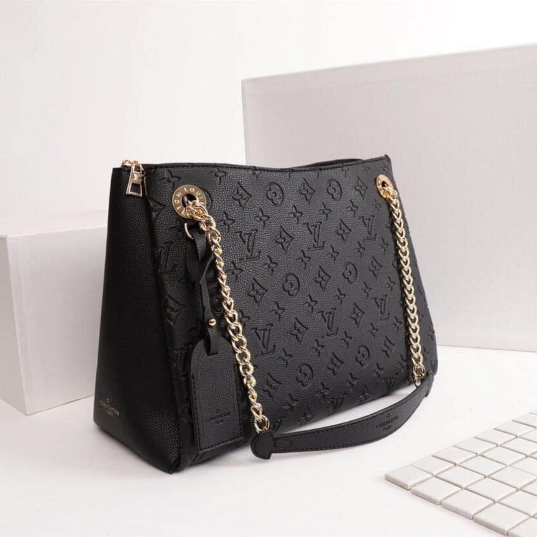 Authentic Quality Louis Vuitton Monogram Empreinte Leather 2 Way LV Bag  Handbag Shoulder Bag Latest Edition Women s Bag BLACK, Women s Fashion, ... 2ddcdffc6f