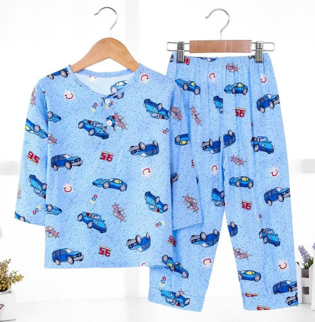 Pola Baju Tidur Kanak Kanak Lelaki