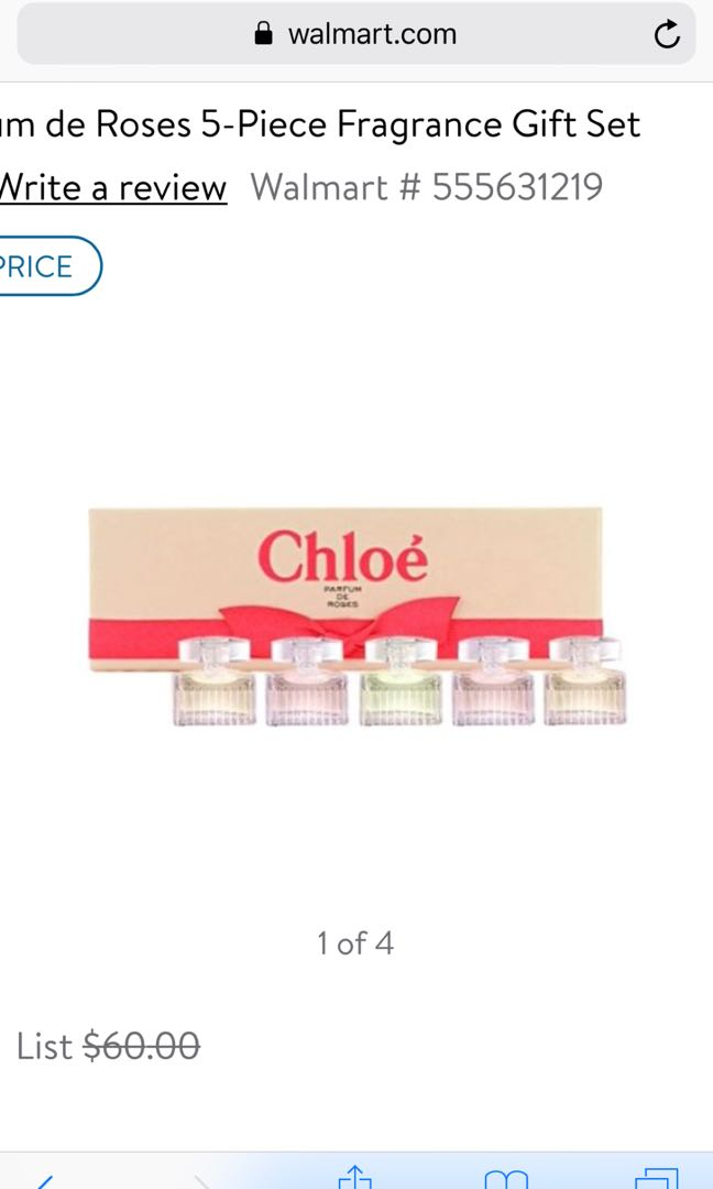 Chloe Parfum De Roses Health Beauty Perfumes Deodorants On