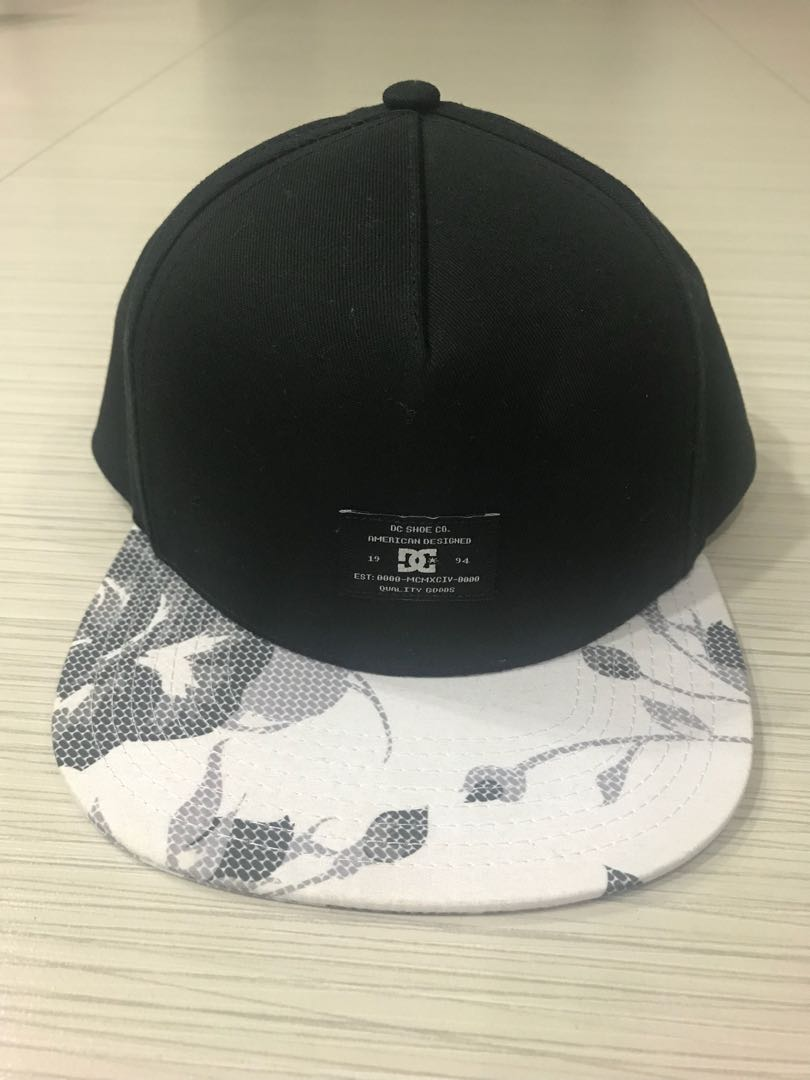 DC Shoes Snapback Foregore Cap black white   grey 89b0bd9a8ee7
