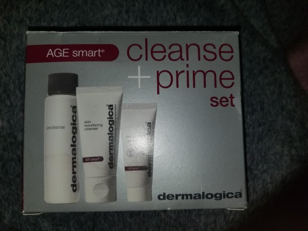 Dermalogical cleanse and prime