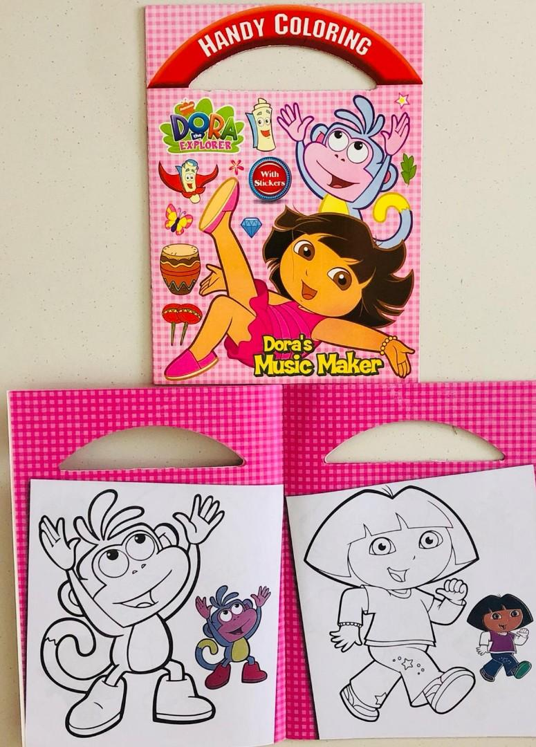 - Dora Colouring Book, Books & Stationery, Stationery On Carousell
