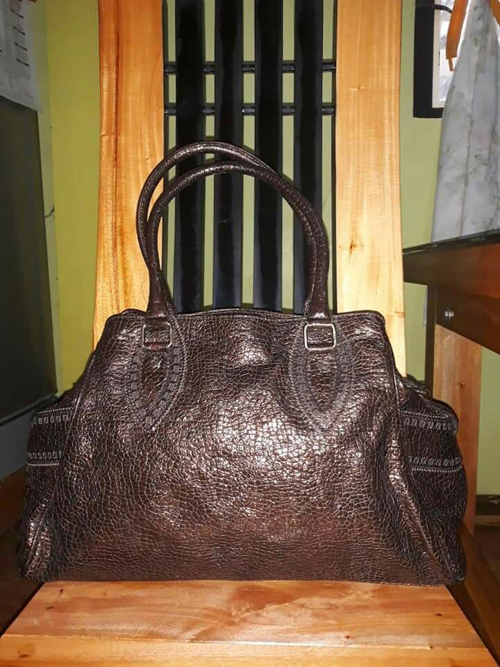 07c70f910e Fendi Metallic Bronze Tote Bag