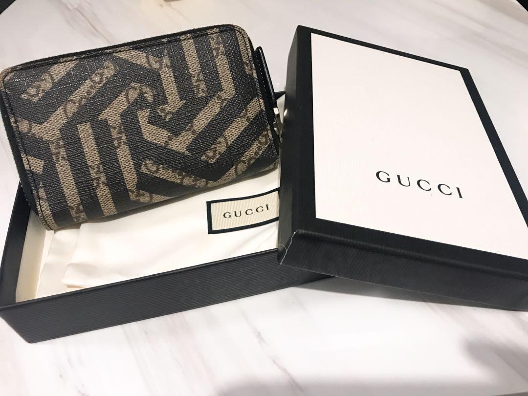 fb6a1e3a4bd Gucci GG Caleido Zip-round Card Case