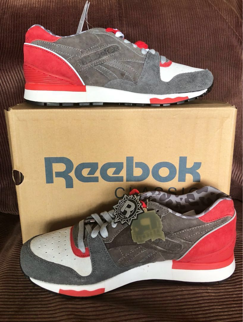"7a7963fa149c Hanon x Rebook GL6000 ""3 CASTLES"" rubber shoes"