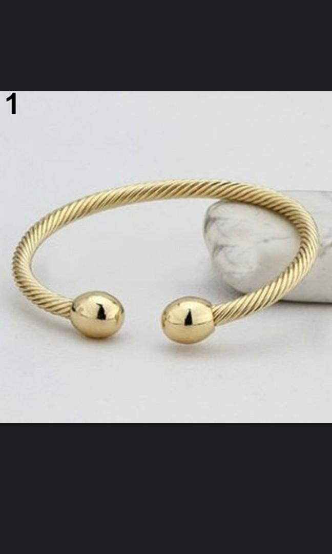 HEALING COPPER MAGNETIC THERAPY BRACELET LUXURY ARTHRITIS PAIN RELIEF BANGLE