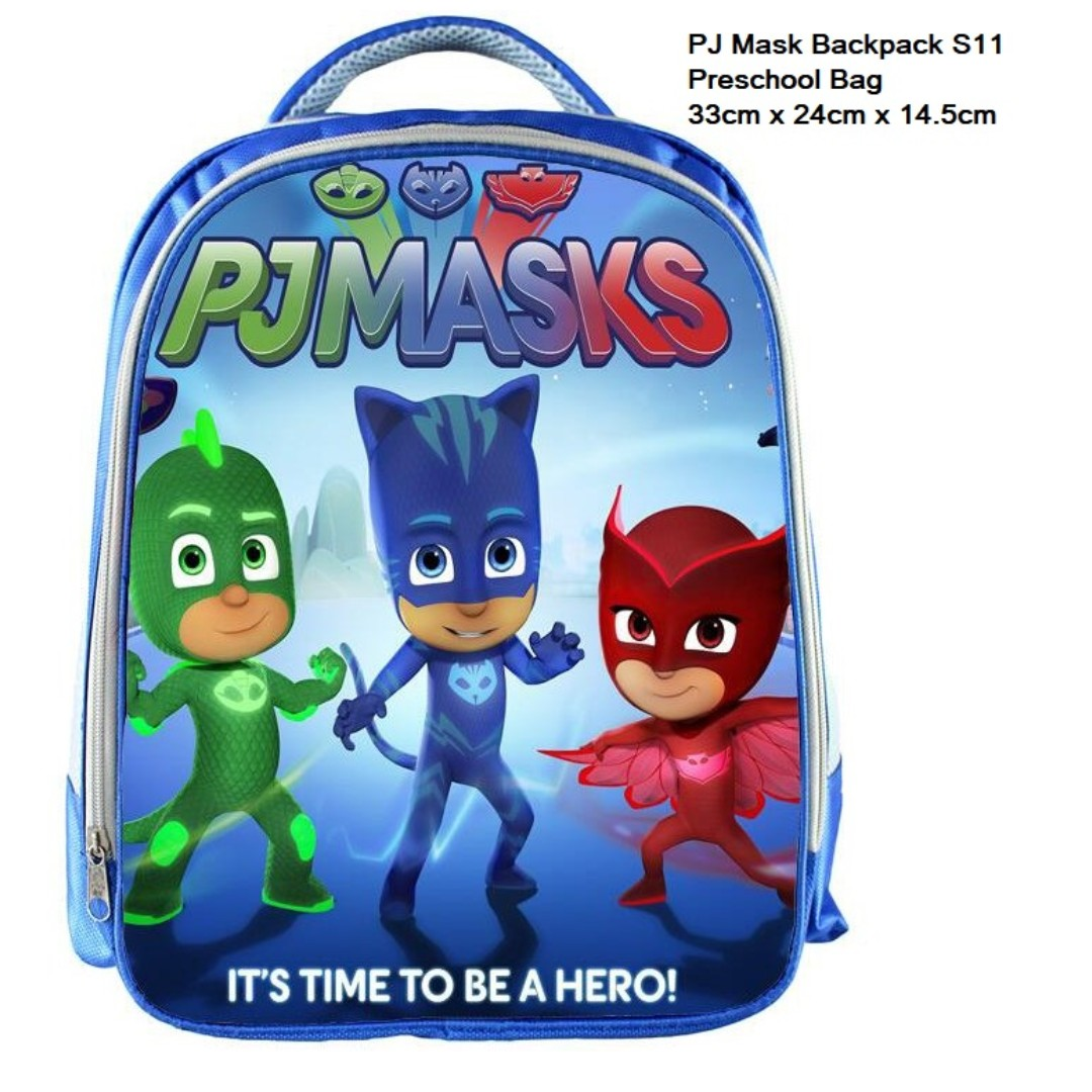 ab12c191de42 In stock: PJ Mask Preschool School Bag/ Backpack