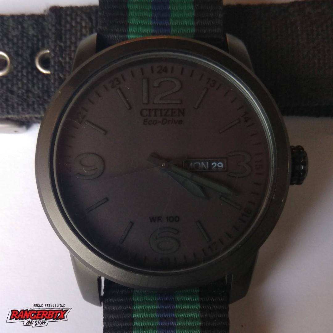 Jam tangan Citizen Eco Drive BM-8475F (full black)