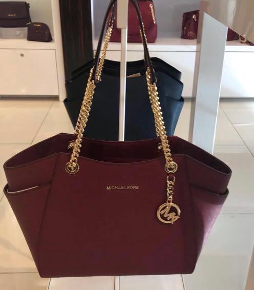 7d34d1918b04 Michael Kors Handbags Burgundy - Foto Handbag All Collections ...