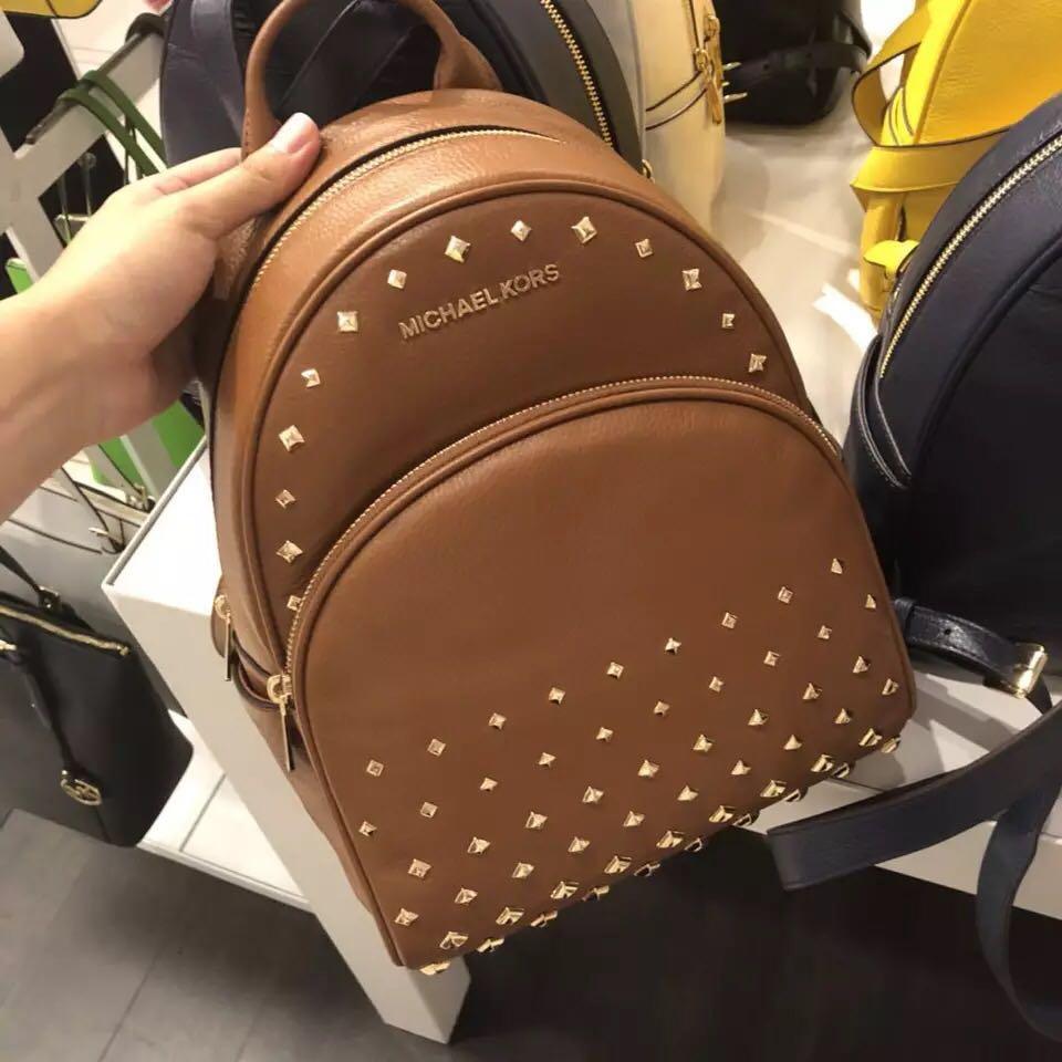 9d97a5328c8a Michael Kors MK backpack, Women's Fashion, Bags & Wallets, Backpacks ...