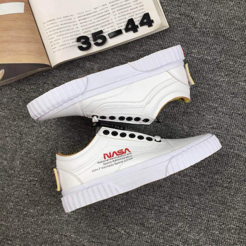 "1a2376c4f00 NASA x Vans Space Voyager Old Skool ""True White"""