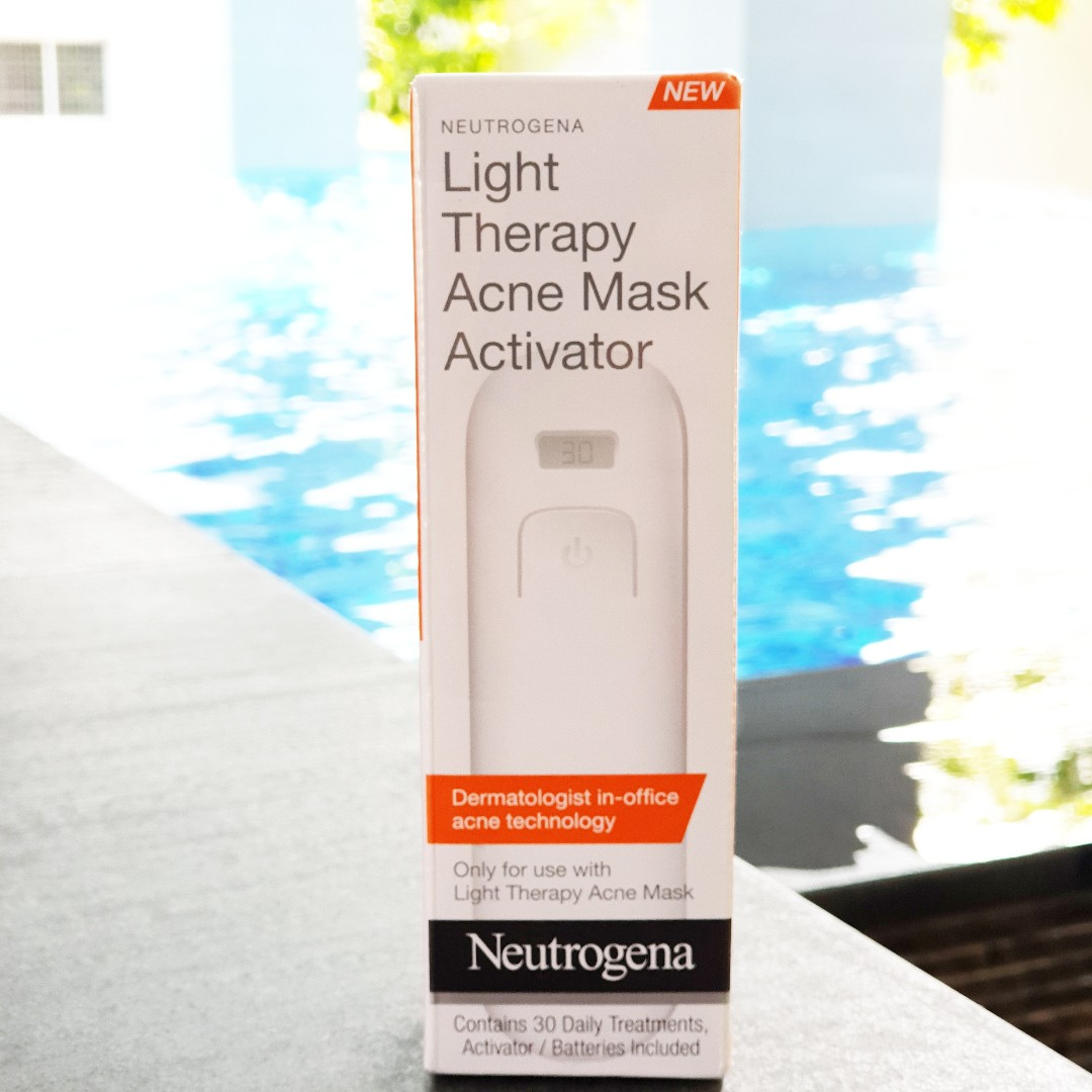 activator for neutrogena acne mask
