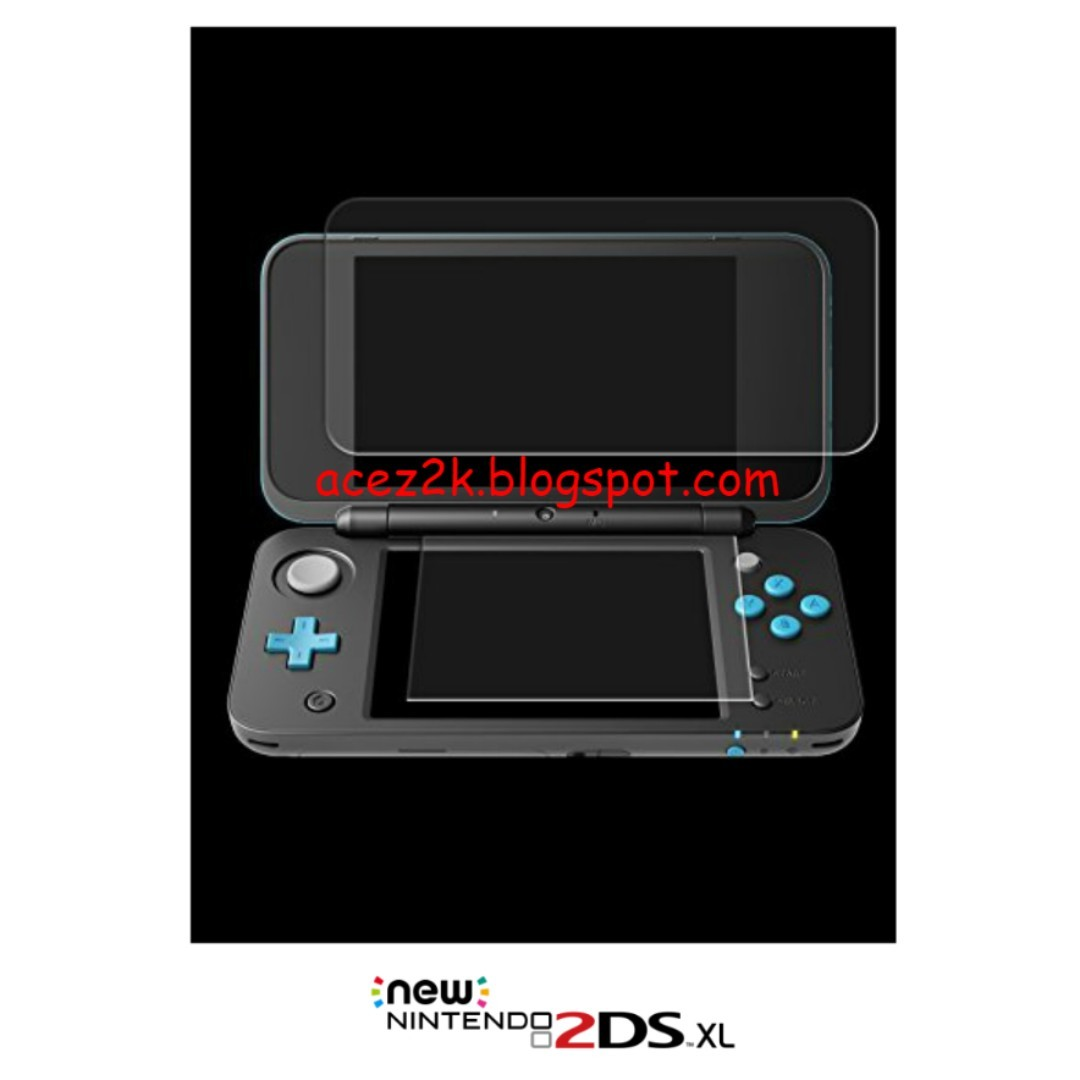 Bn New 2ds Xl Ll Screen Protector Brand Toys Games Tempered Glass For 3ds Hori Video Gaming Accessories On Carousell