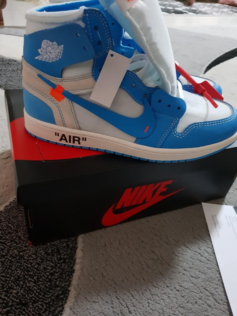 cheap for discount ec431 7a557 Nike x offwhite jordan 1