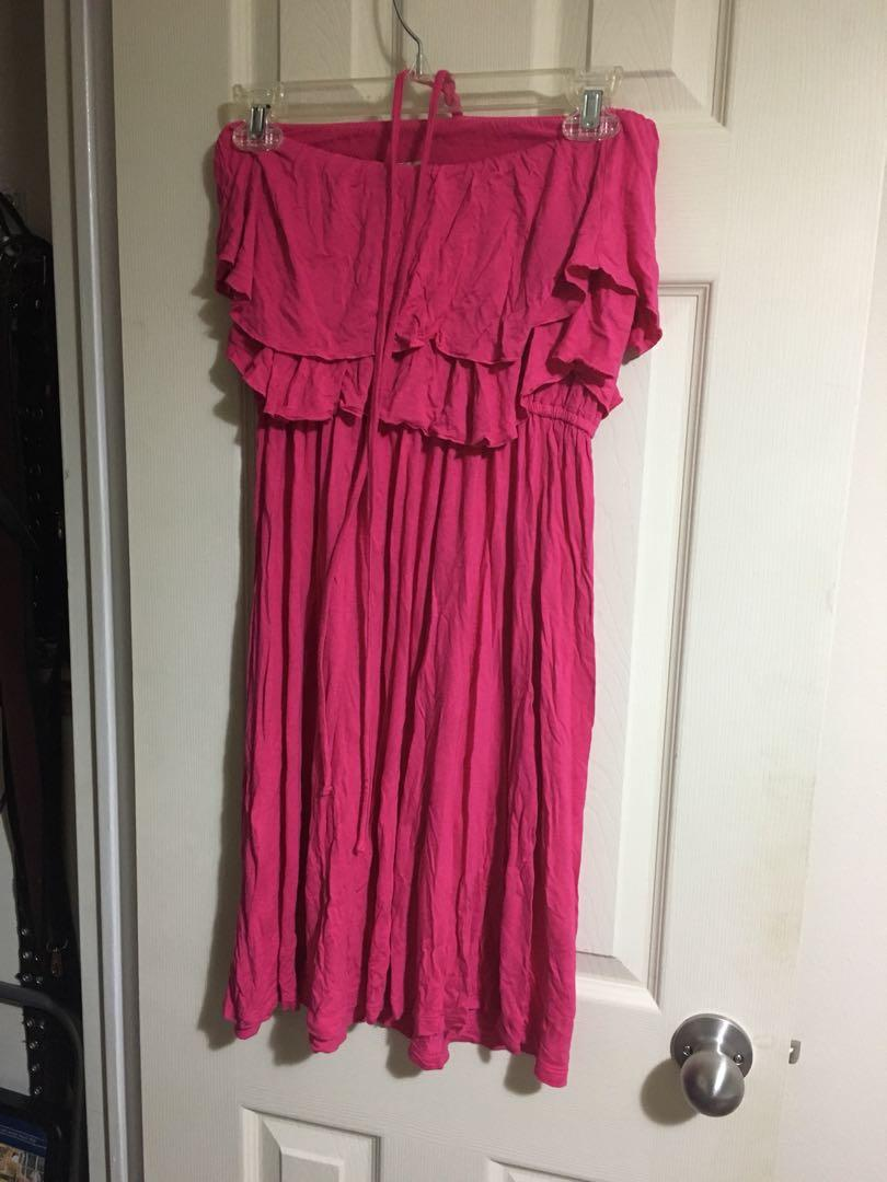 Old Navy pink dress