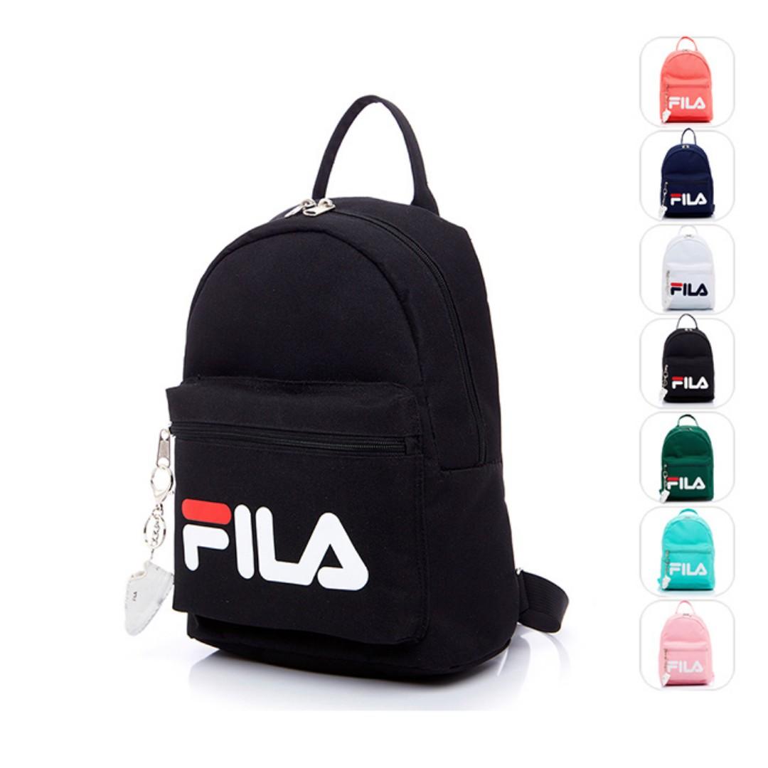Pre-order  Fila backpack with mini shoe accessory