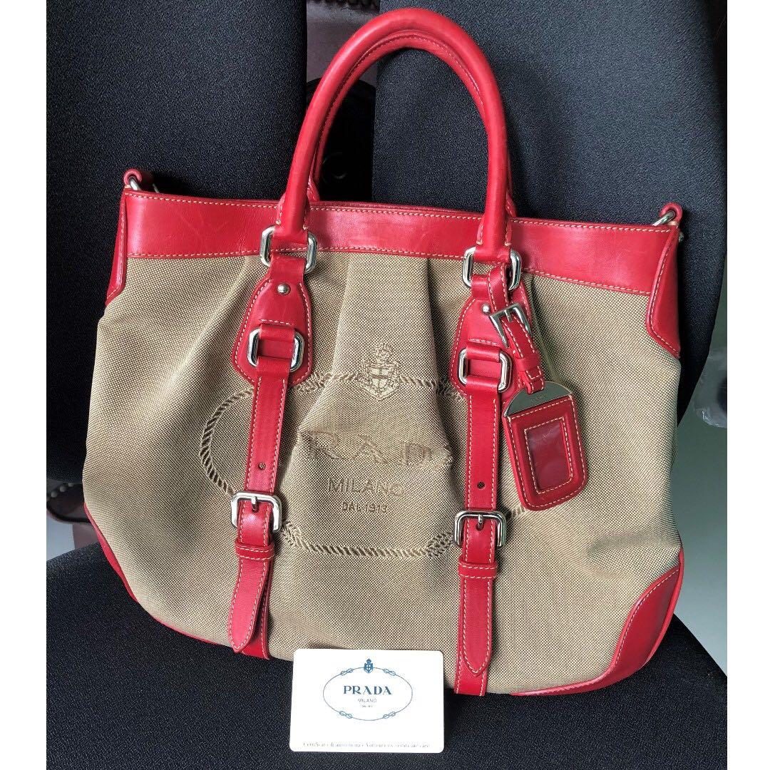 ec05c638932d3d Pre-Owned PRADA BN1184 CROSSBODY BAGS, Luxury, Bags & Wallets ...