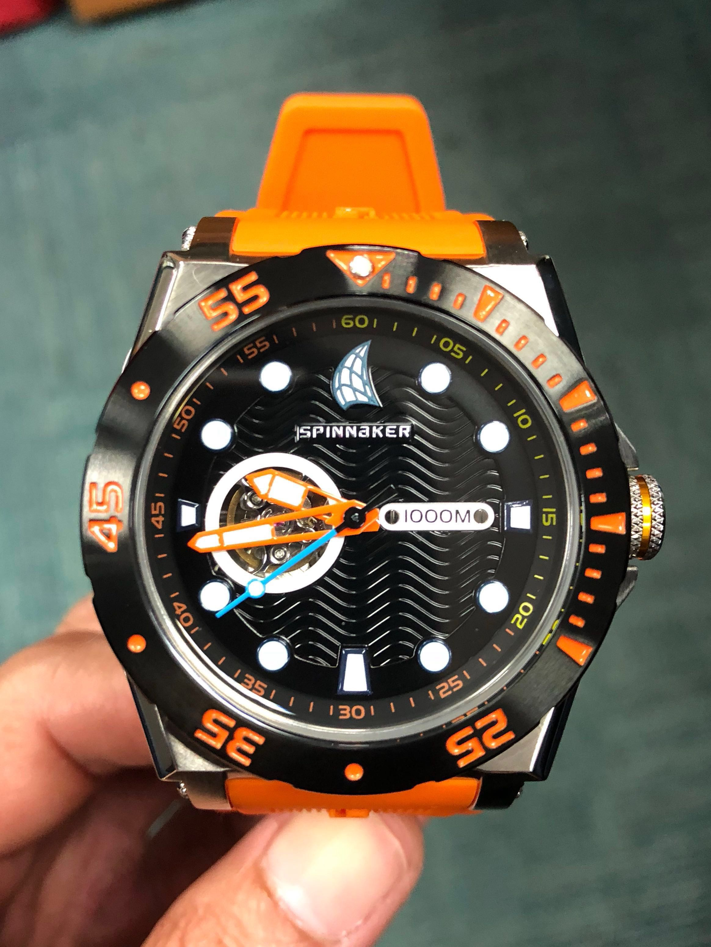Priced For New Ownerspinnaker Automatic Divers With Helium Citizen Nh8388 81e Release Valve Mens Fashion Watches On Carousell